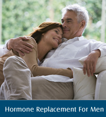 Hormone replacement therapy men